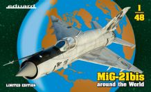 Eduard 1/48 Model Kit 11135 Mikoyan MiG-21bis Around the world (Limited Edition)